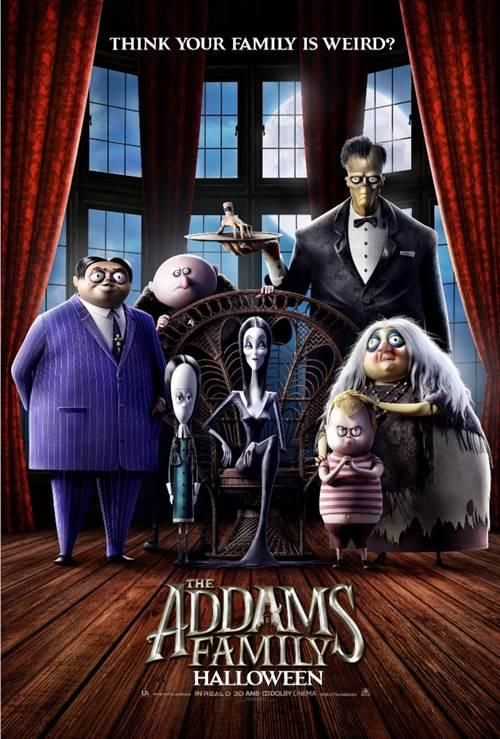The Addams Family poster 2a 04-11-19