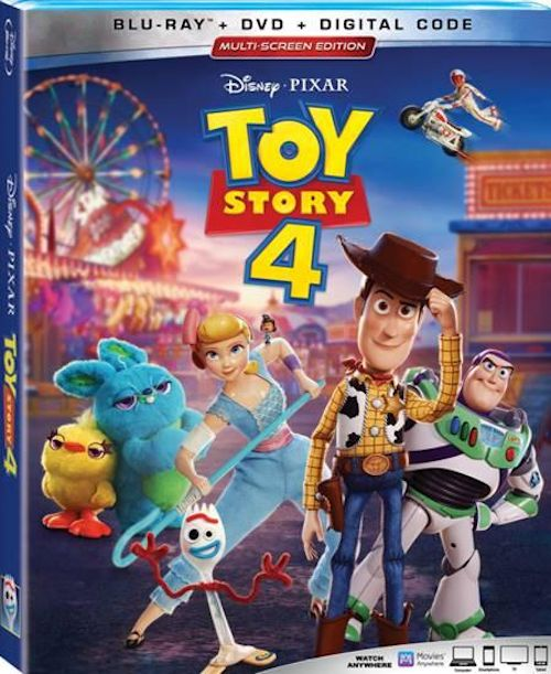 Toy Story 4 DVD 1a 08-23-19