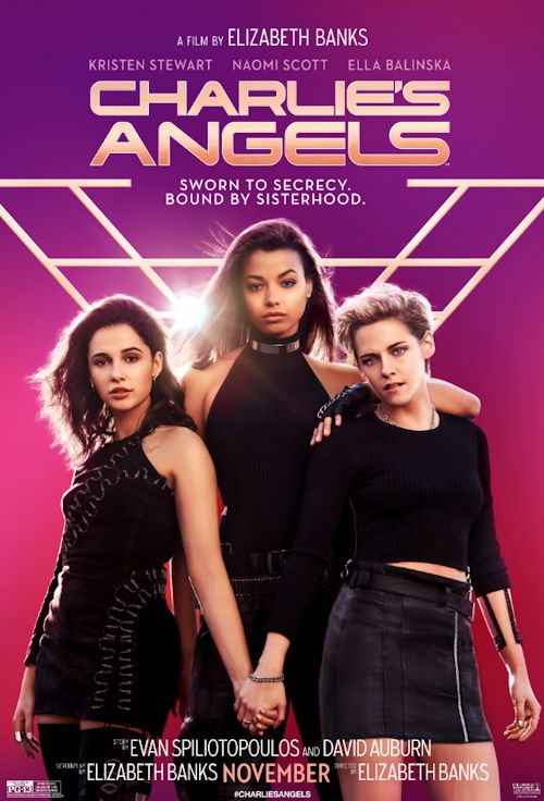 Charlie Angels poster 1a 10-15-19