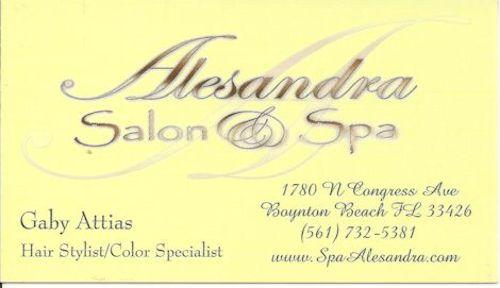 Alesandra Salon- Gaby 1a 12-20-19