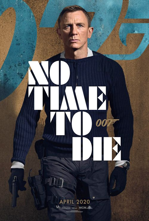 No Time To Die poster 1a 12-03-19